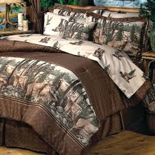 decoration steeler comforter set whitetail deer bedding 4 sizes with bed steelers king size