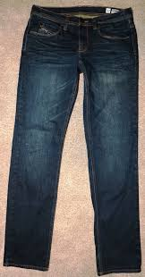 Empyre Mens Skeletor Dark Wash Denim Skinny Jeans Sz 32 X