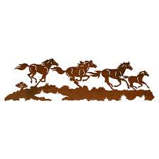 on wild horses wall art with wild horses wall art 42 inch