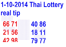 Thai Lottery Result Chart 2014 Thai Lottery Results 1 10 2014 Real Tip Thai Lotto Tip For