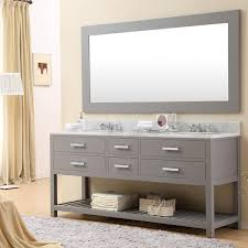 72 double sink bathroom vanity. water creation madalyn 72g 72-inch cashmere grey double sink bathroom vanity from the 72