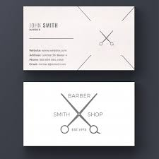 barbershop business cards barber shop business card psd file free download