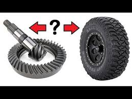Tj Gear Chart How To Choose Your Axle Gear Ratio