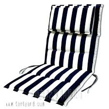 white and black stripe outdoor wicker chairs seat cushion sets with head pillow cushions for dining