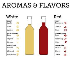 aromas and flavors of wine