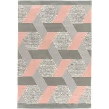 weave rug pink large