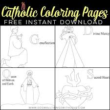 26 Free Catholic Coloring Pages Domestic Church Catholic