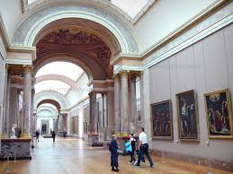 the louvre museum louvre museum denon wing italian paintings of the grand gallery