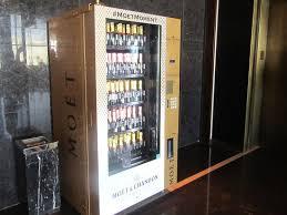 Champagne Vending Machine Vegas Classy Champagne Vending Machine Manderin Oriental Las Vegas NV