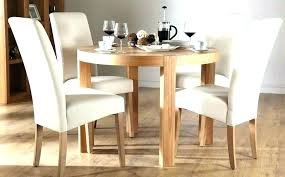 round oak and glass dining table dining table sets 4 chairs round oak dining table cream
