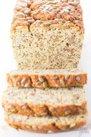 Coconut flour is gluten free and this bread has a surprising texture and sweetness for a gluten free recipe. Keto Low Carb Coconut Flour Bread Recipe Wholesome Yum