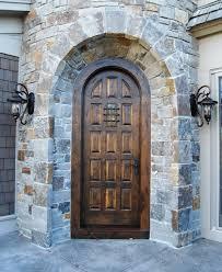 15 panel alder entry door