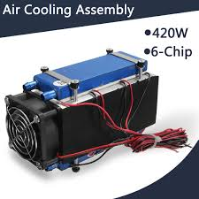 420w thermoelectric cooler semiconductor refrigeration peltier cooler air cooling radiator water chiller cooling system device