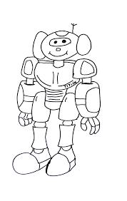 Dessin De Robots A Imprimer Coloriage De Robotll L