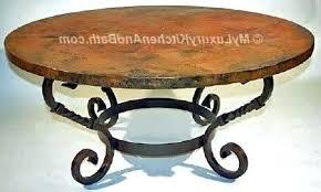 iron coffee table base adorable ideas round metal coffee table interior