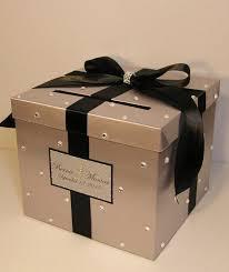 best 25 wedding card boxes ideas on pinterest diy wedding card Wedding Cards Box Holder wedding card box silver and black gift card box money box holder customize in wedding card box holder with lock