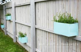 Hanging wooden planter boxes for fence   Home Projects   Pinterest   Wooden  planters, Fences and Planters