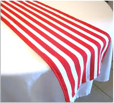red and white striped table runner black affordable tables tablecloth canada a