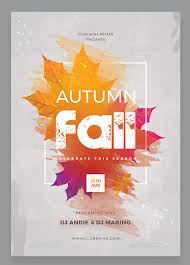 Fall Flyer 30 Premium And Free Fall Festival And Party Flyer Designs