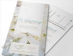 Wedding Brochures Templates Free Jennie Design