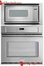 com bundle 3 items frigidaire professional 3 piece 27 stainless steel electric wall oven microwave combo fpew2785pf fpmo209kf mwtk27kf