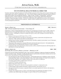 Physician Resume Samples Perfect Resume