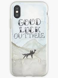 """Good Luck Out There Fantastic <b>Mr</b>.<b>Fox</b>"" iPhone Case & Cover by ..."