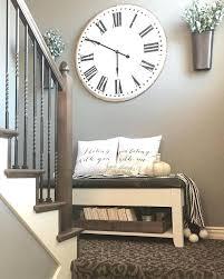 large wall clock decor clocks amusing wall decor large clock decorating ideas kitchen large iron wall