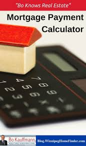 Figure Out Mortgage Payment Mortgage Payment Calculator For Winnipeg House And Condo Buyers
