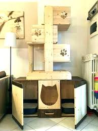 cozy outdoor cat tree house collection wood cat tower outdoor cat tree house plans best cat