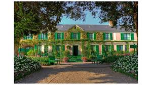 the home of claude monet in giverny