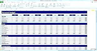 Budget Worksheet Template Excel#1152915 - Myscres
