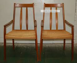 knoll eames chair. Eames Chair For Decor Pair Danish Arm Chairs Woven Reed Wegner Mcm Mid Century Knoll