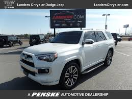 2014 Used Toyota 4Runner RWD 4dr V6 Limited at Landers Chevrolet ...