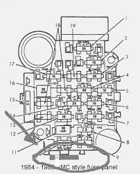 corvette fuse box diagram automotive wiring diagrams