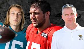 2 days ago · tebow, who turned 34 saturday, appeared in saturday's box score just once, credited with one target in the fourth quarter when he got his hand on a pass that was tipped at the line of scrimmage. Tim Tebow To Jacksonville Jaguars Analysis And Reaction Gmtm