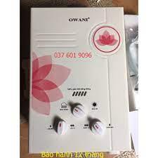 Mã ELMS4 giảm 7% đơn 500K] Bình nóng lạnh gas Owani dùng gas trực tiếp tặng  vòi sen - Máy nước nóng