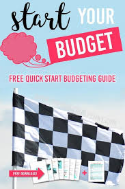 Quick Budget Tool Budget Starter Kit Money Tips From The Practical Penny