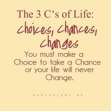 Quotes About Change In Life Extraordinary The 48 C's Of Life Choices Chances Changes
