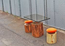urban furniture designs. Prime Urban Log Furniture Gives Felled Trees A Second Life Inhabitat Free Home Designs Photos Fiambrelomitocom