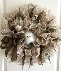 Deer Tracks Burlap Deco Mesh Wreath Ideas Two Twenty One Burlap Wreath Tutorial For Beginners