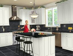 Kitchen Designer Virtual Kitchen Designer Tool With White Cabinetry Also Black
