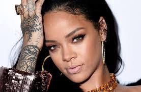 Rihannas Tattoos Hand And Chest Tattoos Nose Job