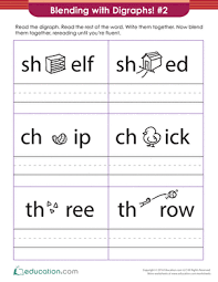 250 free phonics worksheets covering all 44 sounds, reading, spelling, sight words and sentences! 1st Grade Phonics Worksheets Free Printables Education Com