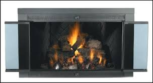 glass door for fireplace fireplace glass covers custom doors ideas glass door fireplace efficiency