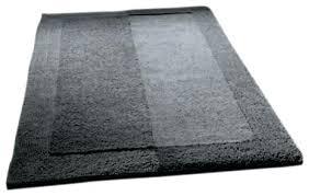 slate gray thick plush reversible cotton bathroom rug medium bath target contemporary mats