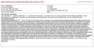 territory manager cover letter whole territory manager cover letter