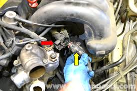 mercedes benz w124 throttle body cleaning and replacement 1986 1996 Mercedes E320 large image extra large image