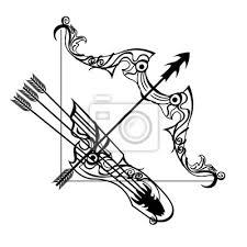 Fototapeta Tetování Známky Střelec