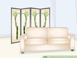 image titled decorate the wall behind a couch step 10